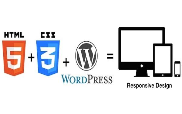 html5 + css3 + WordPress